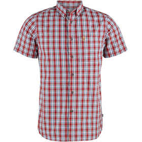 Fjällräven Övik SS Shirt Men deep red